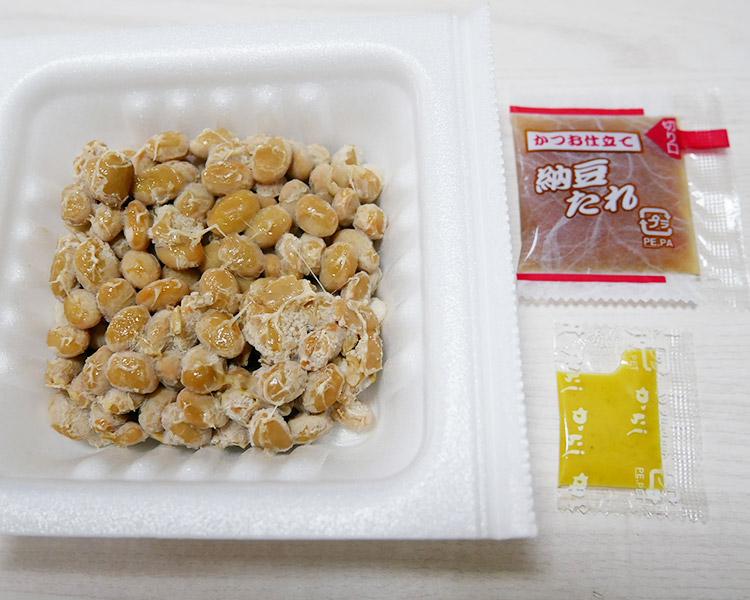 セブンイレブン「北海道産大豆小粒納豆(116円)」