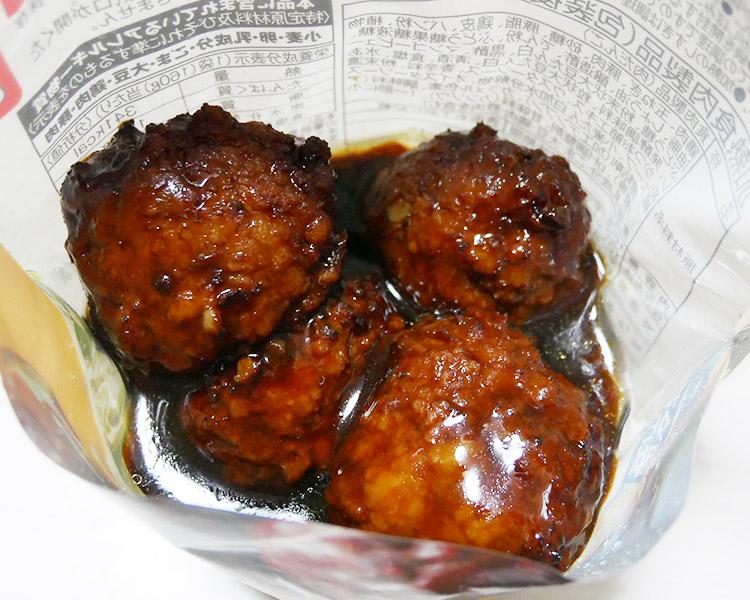 ローソン「黒酢たれ肉団子(210円)」