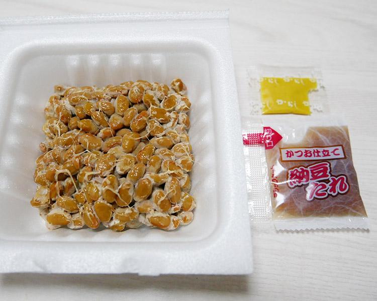 ファミリーマート「契約栽培大豆使用 極小粒納豆(89円)」