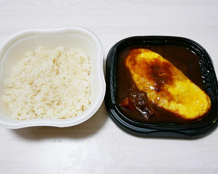 セブンイレブン「玉子を味わう!ビーフシチューオムライス(550円)」