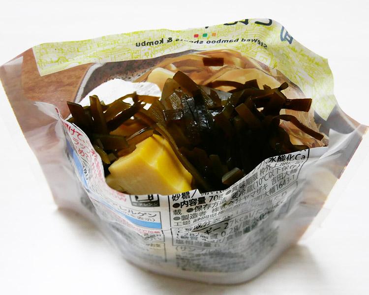 セブンイレブン「筍と昆布の煮物(138円)」