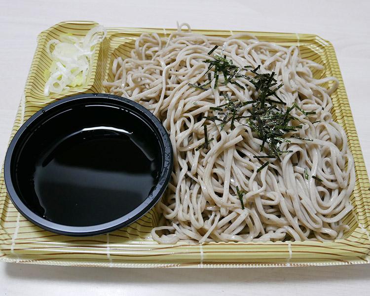 デイリーヤマザキ「だし香る!ざる蕎麦(340円)」