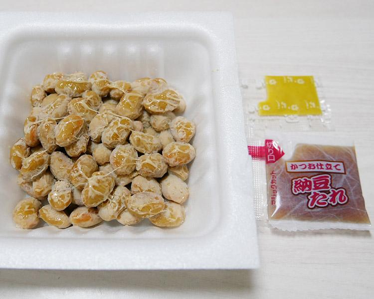 ファミリーマート「国産大豆100%中粒納豆(110円)」