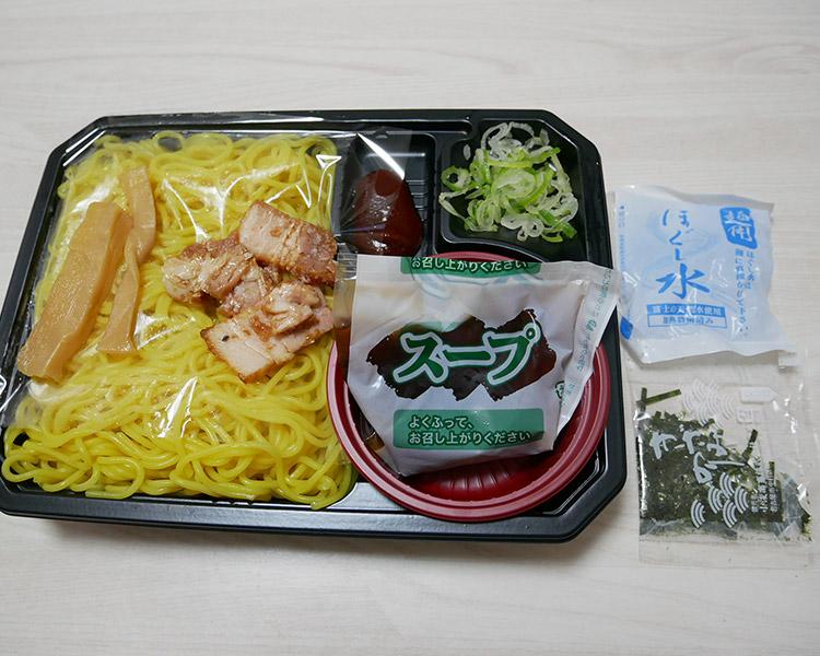 ローソン「辛味噌で食べる!ざるラーメン(399円)」