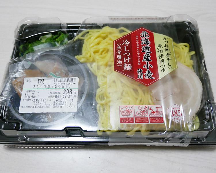 冷しつけ麵[魚介醤油](321円)