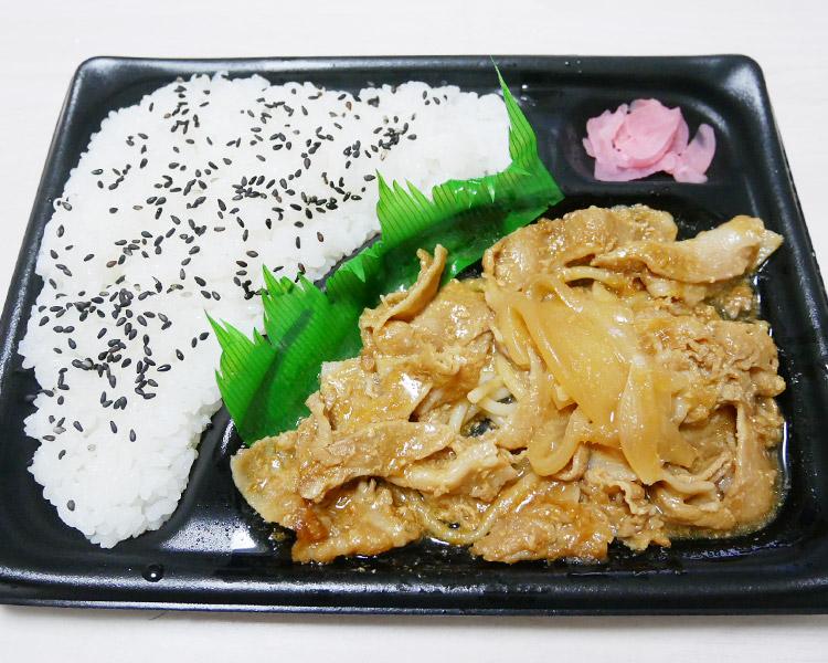 デイリーヤマザキ「豚生姜焼弁当(498円)」