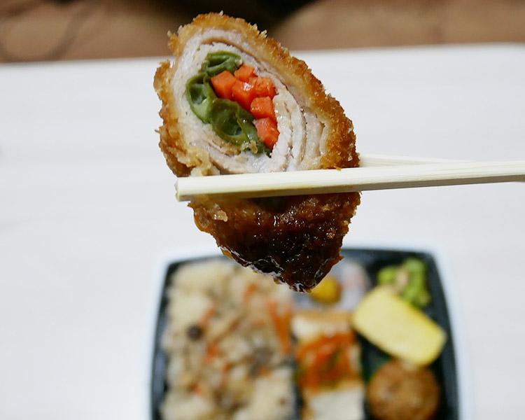 セブンイレブン「秋の味覚!きのこ御飯の幕の内弁当(537円)」