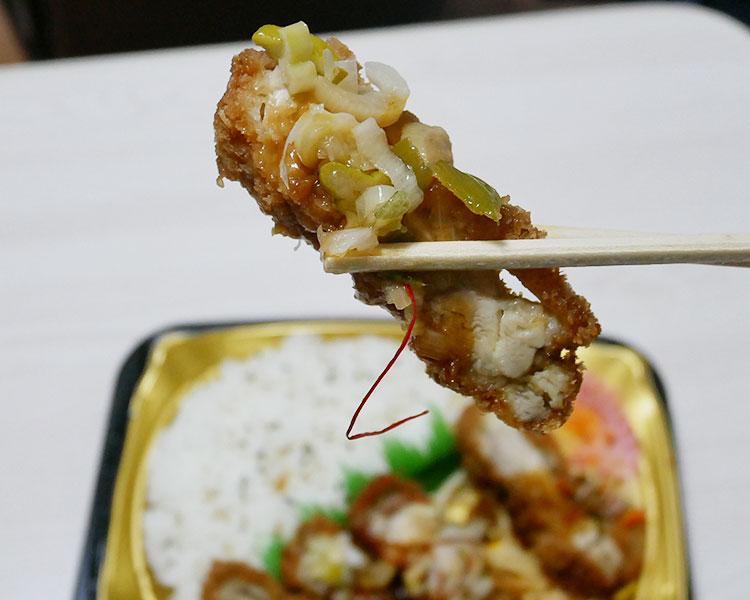 まいばすけっと「甘酢たれのチキンカツ弁当(397円)」