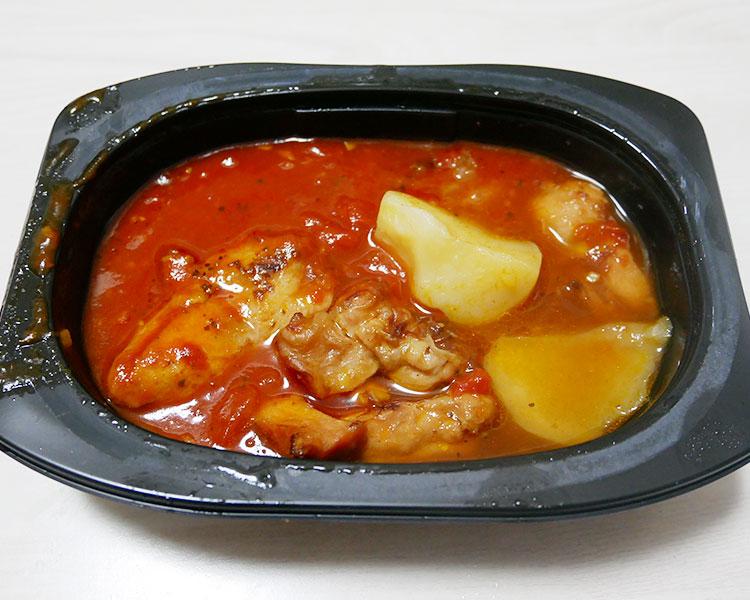 ローソン「鶏肉のガーリックトマト煮(399円)」