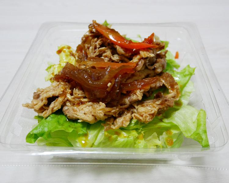 セブンイレブン「牛肉とごぼうの和サラダ(399円)」