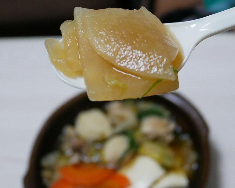 セブンイレブン「1/2日分の野菜!鶏ちゃんこ鍋(496円)」