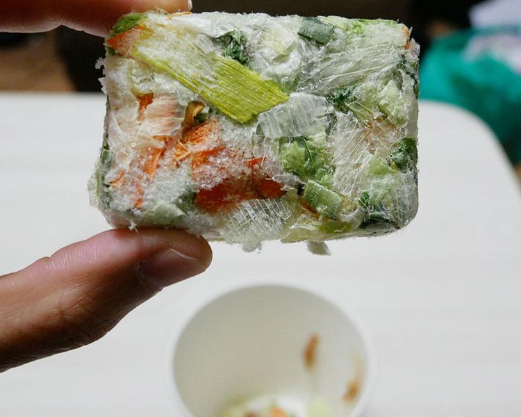 セブンイレブン「カップみそ汁 7種類の野菜(128円)」