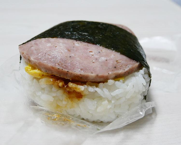 デイリーヤマザキ「ポーク玉子おむすび(289円)」