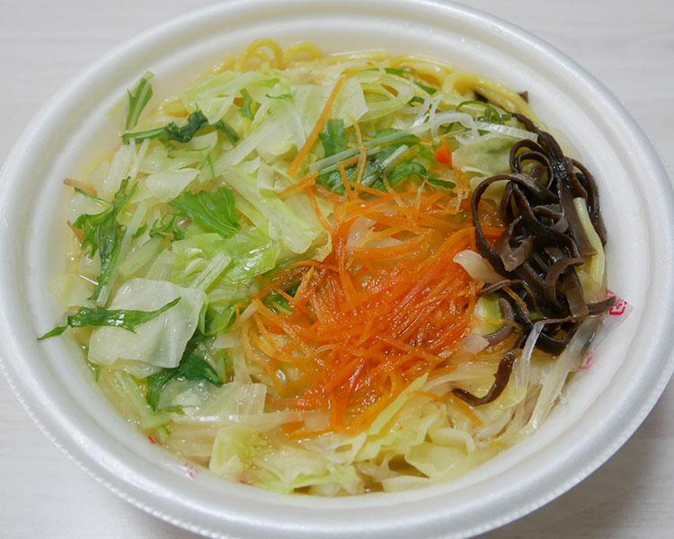 まいばすけっと「1/2日分の国産野菜タンメン(321円)」
