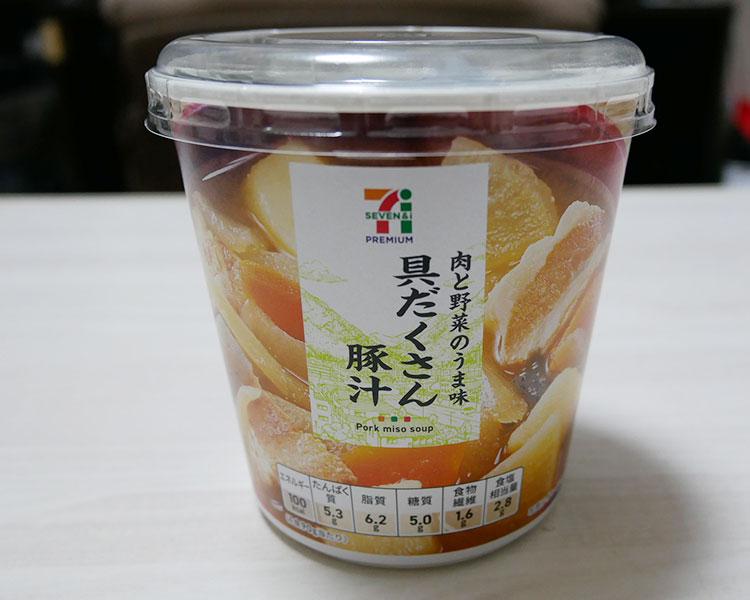 カップみそ汁 具だくさん豚汁(138円)