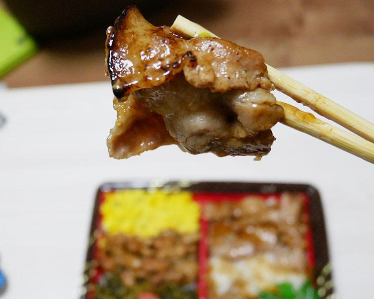 ファミリーマート「かえし醤油が決め手!炙り豚焼肉&焼鳥重(540円)」