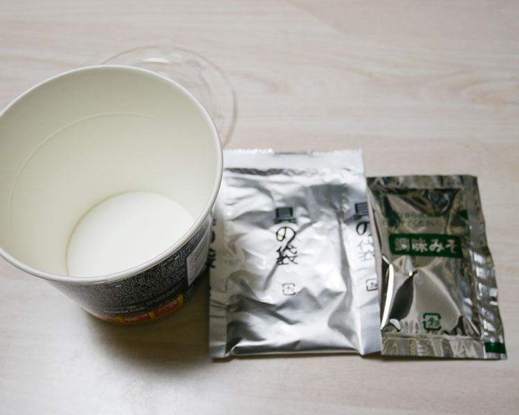 ファミリーマート「カップみそ汁 伊勢志摩産あおさ(168円)」