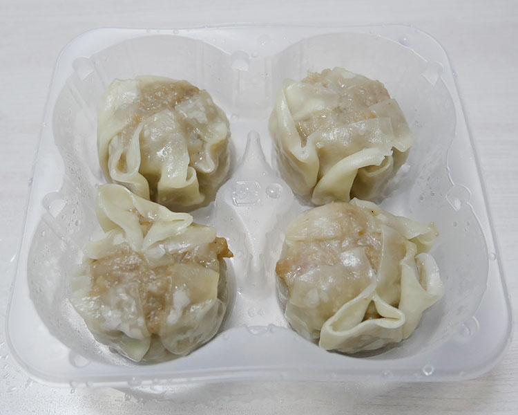 ローソン「冷凍食品 肉焼売 4個入(195円)」
