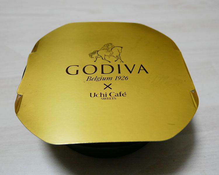 ローソン「Uchi Café×GODIVA ショコラアイスクリームロールケーキ(380円)」