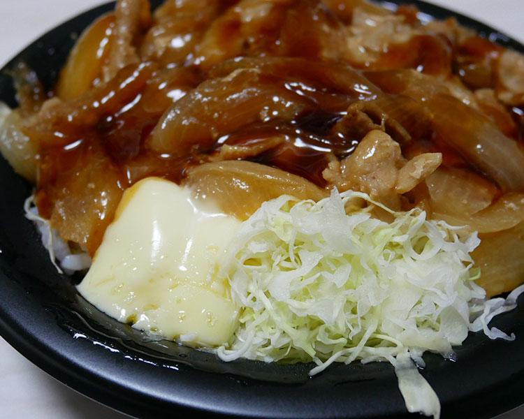 デイリーヤマザキ「ずっしり豚生姜焼き丼(550円)」
