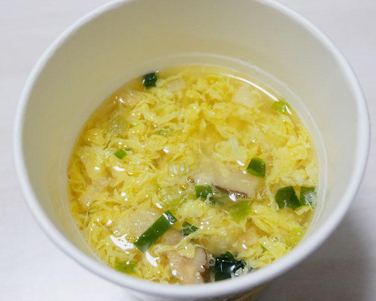 ファミリーマート「ふわふわたまごのスープ(141円)」