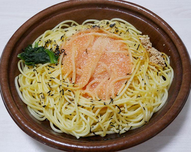 デイリーヤマザキ「北海道産たらこと焼たらこのスパゲッティ(421円)」