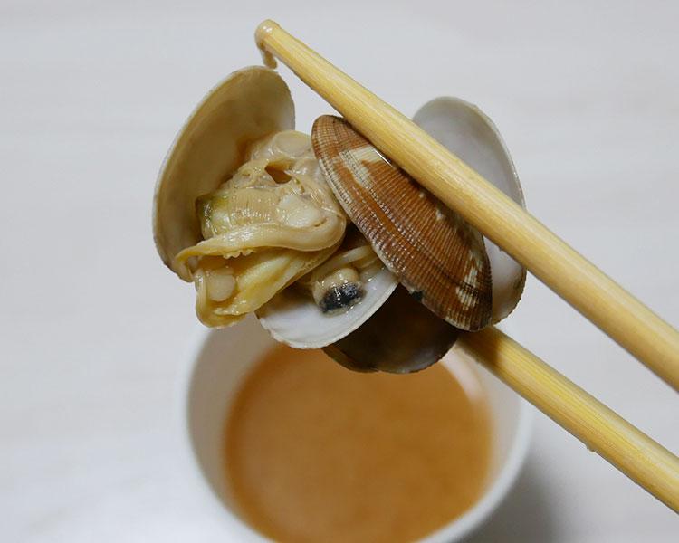 セブンイレブン「カップみそ汁 あさり(138円)」
