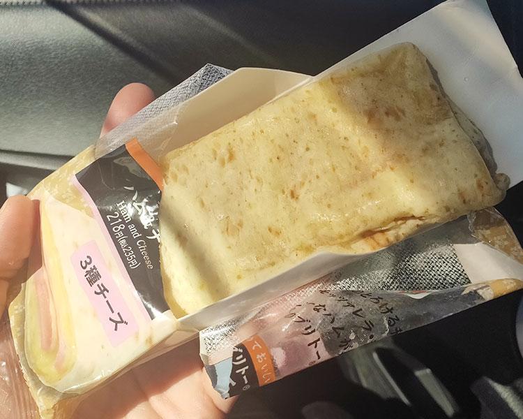 セブンイレブン「ブリトーハム&チーズ(235円)」