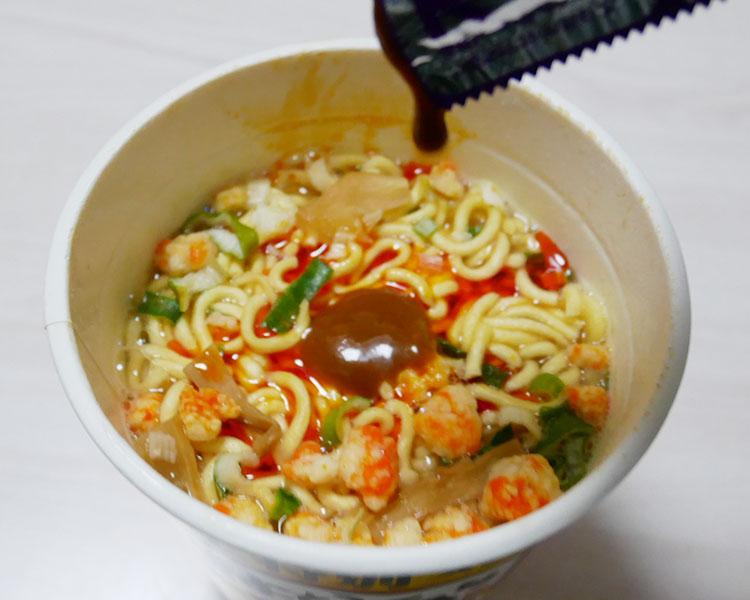ファミリーマート「麺屋はなび 濃厚海老味 味噌ラーメン(226円)」