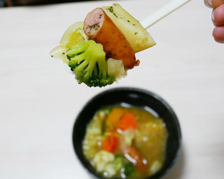 まいばすけっと「半日分の野菜が摂れるポトフ(321円)」
