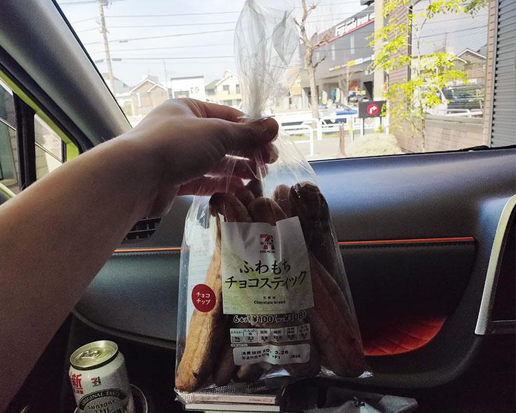 ふわもちチョコスティック(108円)