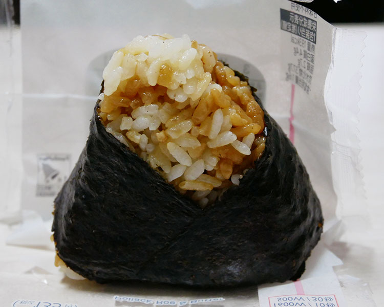 ファミリーマート「たらこバター醤油おむすび(135円)」