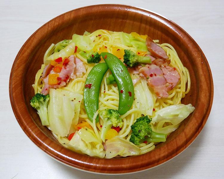 ファミリーマート「野菜と食べる レモン&ペッパーパスタ(460円)」