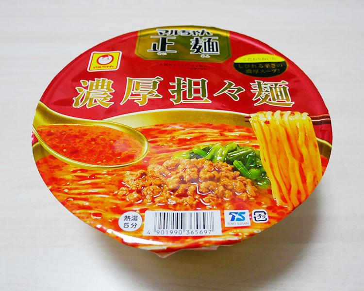 マルちゃん正麺 濃厚担々麺(321円)