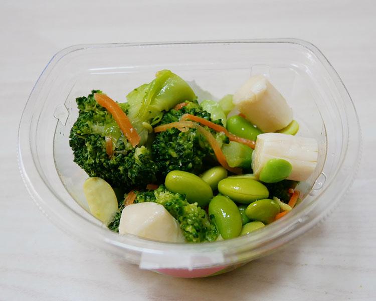 ファミリーマート「ホタテ風味と3種野菜の塩ごま油仕立て(248円)」