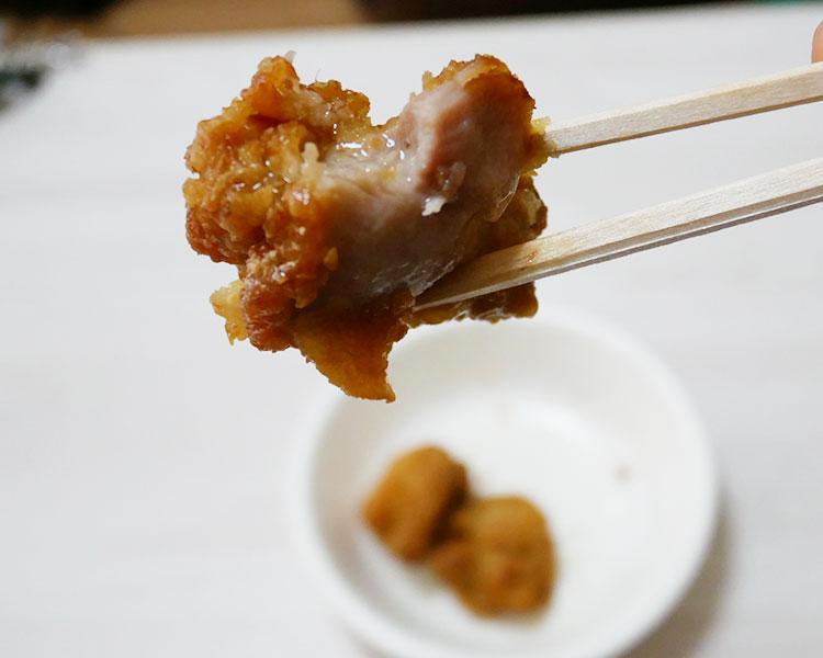 セブンイレブン「若鶏の和風鶏から揚げ(257円)」