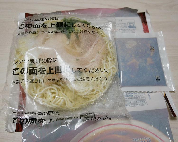 セブンイレブン「冷凍食品 具付き醤油ラーメン(213円)」