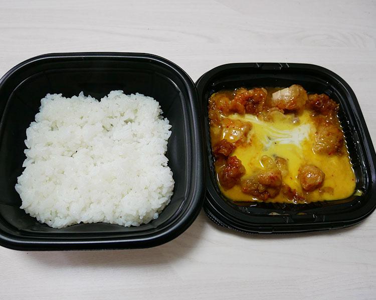 ファミリーマート「とろーりチーズの唐揚丼(498円)」