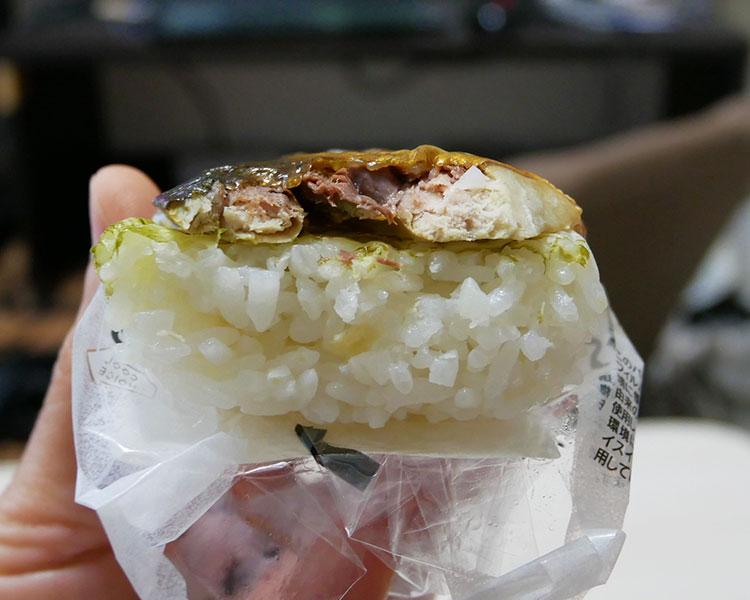 セブンイレブン「炙り焼きさば寿司(183円)」