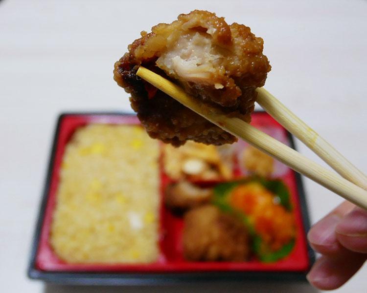 ローソン「炒飯&唐揚弁当(598円)」