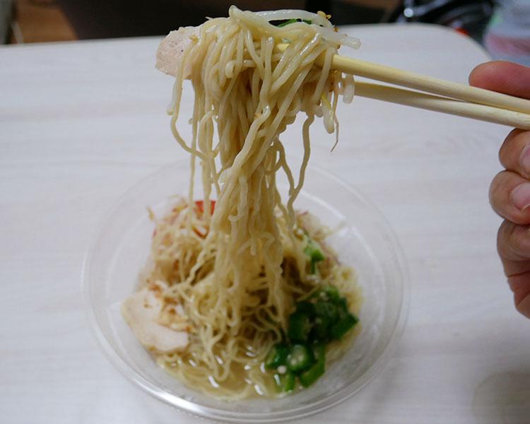 ローソン「麺屋一燈監修 冷し塩ら~めん(530円)」