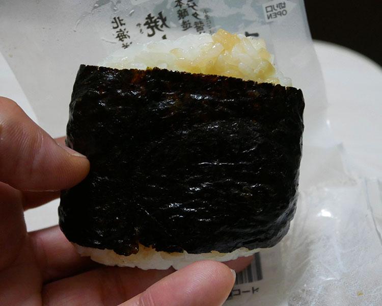 セブンイレブン「醤油海苔仕立ておむすび北海道産焼しゃけ(151円)」