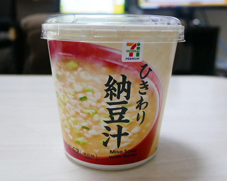 カップみそ汁 ひきわり納豆汁(116円)