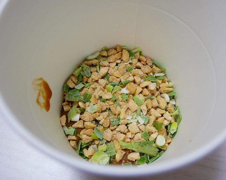 セブンイレブン「カップみそ汁 ひきわり納豆汁(116円)」