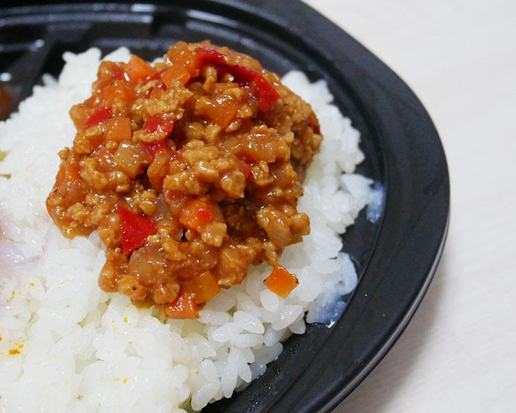 セブンイレブン「野菜と大豆ミートのタコスミート(127円)」