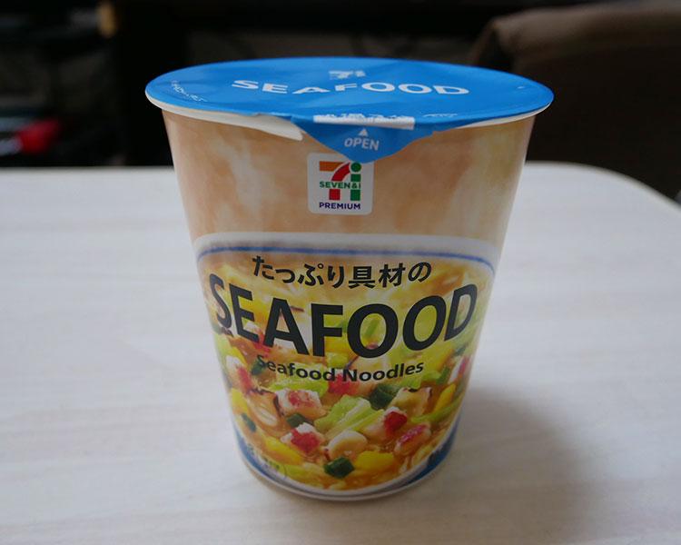 シーフードヌードル(138円)