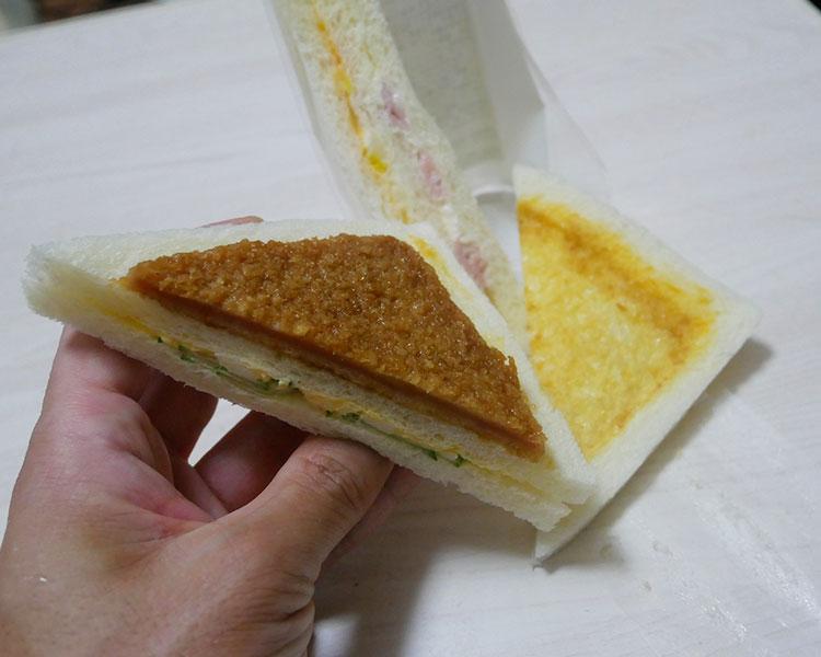 デイリーヤマザキ「お手軽サンド(198円)」