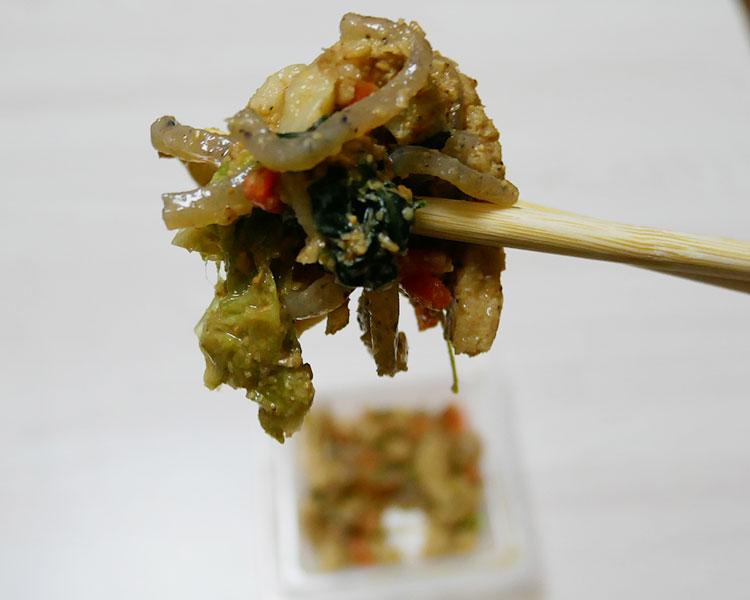 ファミリーマート「小松菜の胡麻和え(178円)」