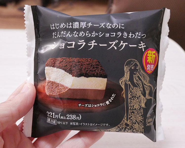ショコラチーズケーキ(238円)