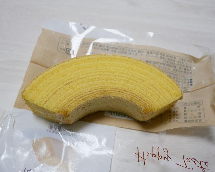 ファミリーマート「冷して食べるしっとり食感のバウム(158円)」